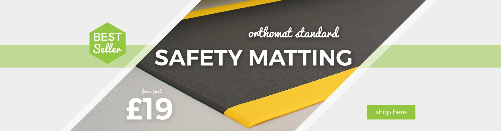 Shop Safety Edge Anti-Fatigue Matting