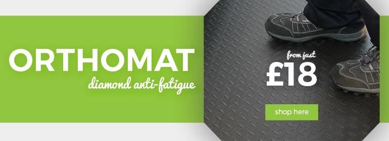 Shop our Orthomat Diamond Anti-Fatigue