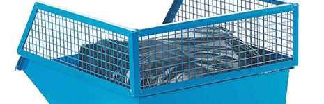 Skip Mesh Cage