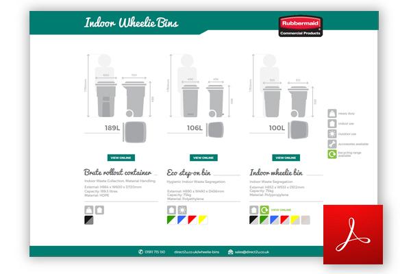 Indoor Wheelie Bins