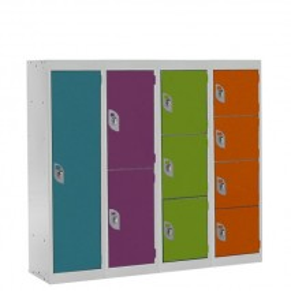 Spectrum Primary School Lockers - 1235mm High
