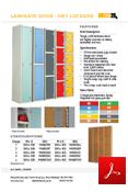 Laminate Door Dry Area Lockers