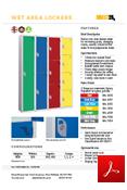 Wet Area Lockers Data Sheet
