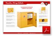 Hazardous Storage Cabinets Thumbnail
