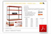 TUFF Longspan 450kg Data Sheet