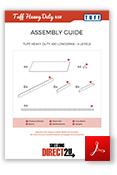 TUFF Heavy Duty 450 Longspan Shelving Assembly Guide