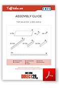 TUFF Value 300 Shelving Assembly Guide