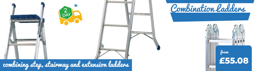 Range of Combination Ladders available from just £54