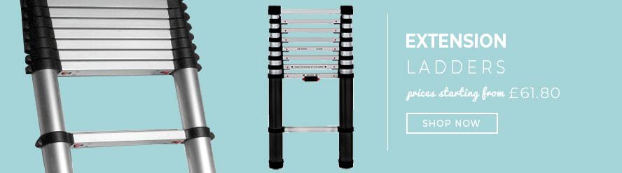 Range of Extension Ladders