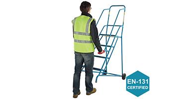 EN131 Certified Warehouse Steps