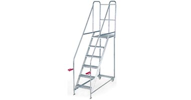 GS Approved Fort Tilt and Push Mobile Steps