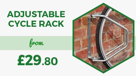Adjustable Wall Mounted Cycle Rack