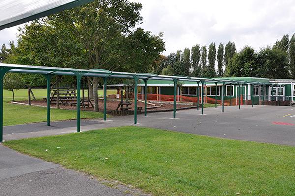 School Premier Walkway
