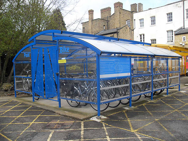 County Hall Cycle Compound