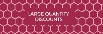 Large Quantity Discounts