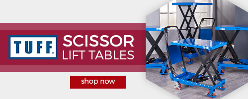 TUFF Scissor Lift Tables