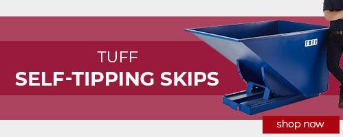 TUFF Self-Tipping Skips