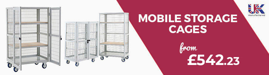 Mobile Storage Cages from £467.