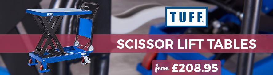 Shop our best selling TUFF Scissor Lifts