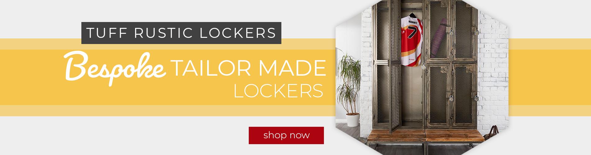 Tuff Rustic Lockers