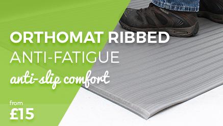 Orthomat Diamond Charcoal Anti-Fatigue Matting