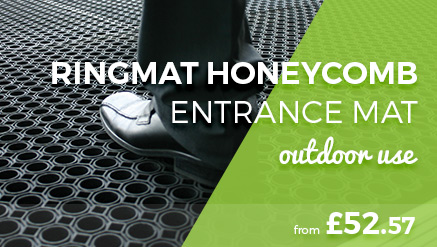 Ringmat Honeycomb Outdoor Entrance Mat