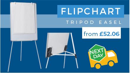 Tripod Flipchart Easels