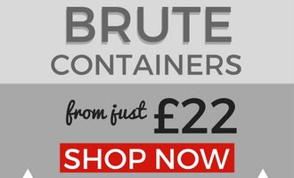 Brute containers from £22