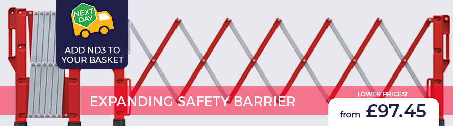 Expanding Safety Barriers