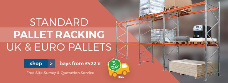 Shop Standard Pallet Racking from £461
