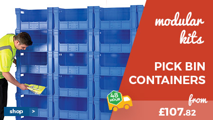 Modular Pick Bin Containers