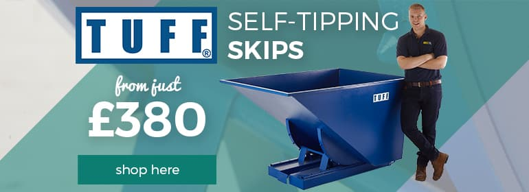 Shop our range of Tipping Skips with Free 5 Day Delivery