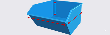 Tipping Skip Dimensions
