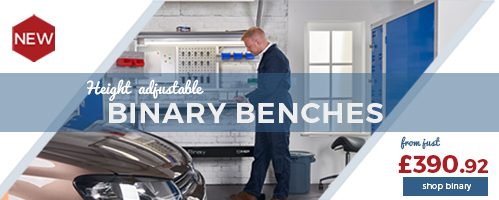 Discover our New height adjustable Binary Bench