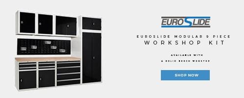 Shop our Euroslide Modular 9 Piece Workshop Kit