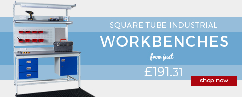Shop our Popular Square Tube Industrial Workbenches