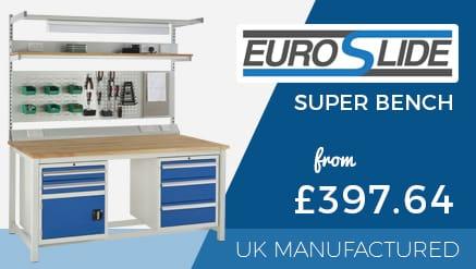 New Euroslide Super Bench