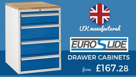 UK Manufactured Euroslide Drawer Cabinets