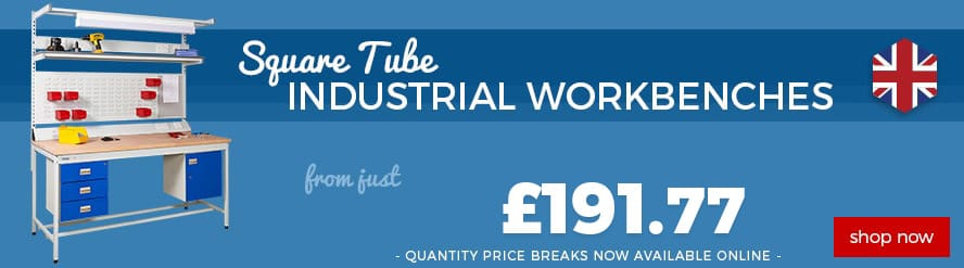 Square Tube Industrial Workbenches