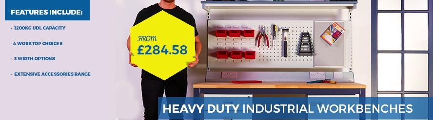 Heavy Duty Industrial Workbenches