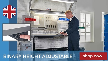 Binary Height Settable Workbenches