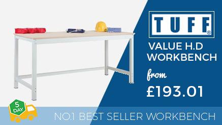 TUFF Value Heavy Duty Workbenches